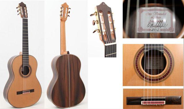 2013 otto vowinkel for Guitarras de luthier